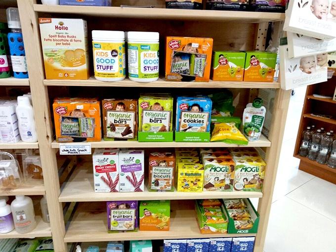 Healthy organic snacks